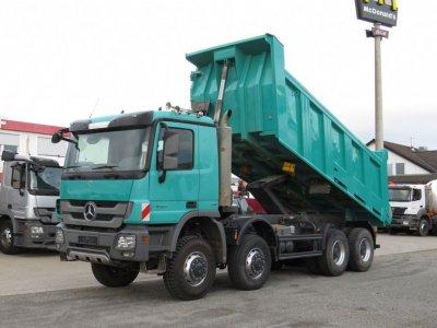 Mercedes-Benz Actros 4141 8x8  Meiller 17m³