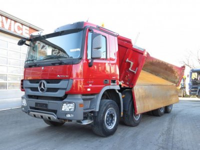 Mercedes-Benz Actros 4141 K 8x4 Bordmatik Meiller Top