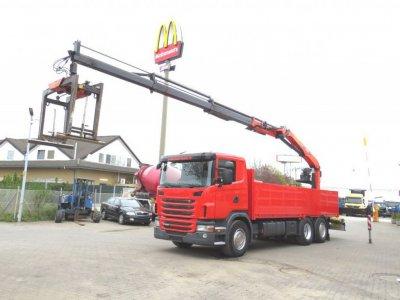 SCANIA (S) G 420 LB6x2+HNB Lenk+Lift, PK18000