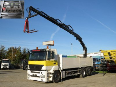 Mercedes-Benz Axor 2540 L 6x2 Lift/Lenk
