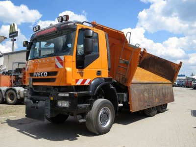 IVECO-MAGIRUS TRACKER 260T45 6x6 Winterdienst
