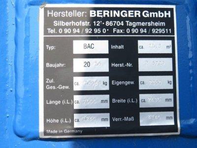 ANDERE  Beringer