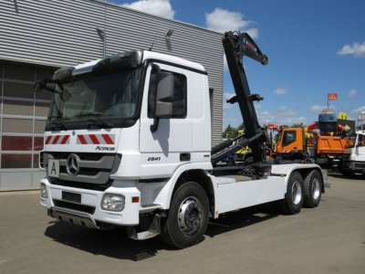 Mercedes-Benz Actros 2641 6x4  Top, Hiab 21to Haken