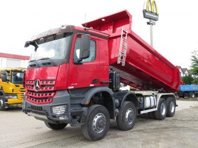 Mercedes-Benz Arocs 4142 8x8 Grounder