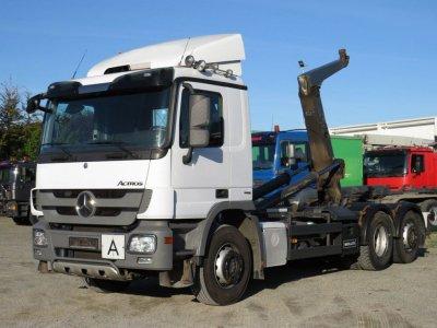 Mercedes-Benz Actros 2541 L  6x2 Meiller, Lift+Lenk