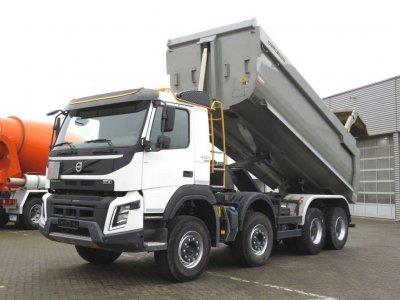 VOLVO (S) Truck FMX 420 8x4 Meiller Halfpipe mit hydr. Klappe