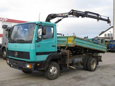 Mercedes-Benz LN 814 K Hiab 045