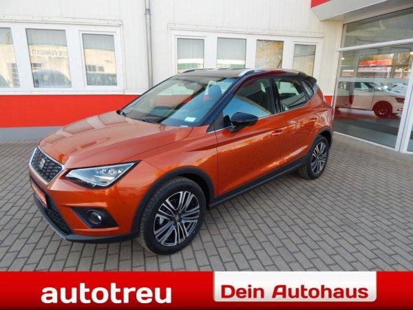 "SEAT Arona XC FullLED Klimaut Navi 17"" Alu Parkhilfe"