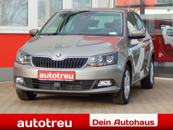 Skoda Fabia 110PS Klimaaut Alu 4xel Fenster Sunset LED