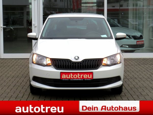 Skoda Fabia 95PS Klima AHK Radio USB Bluetooth