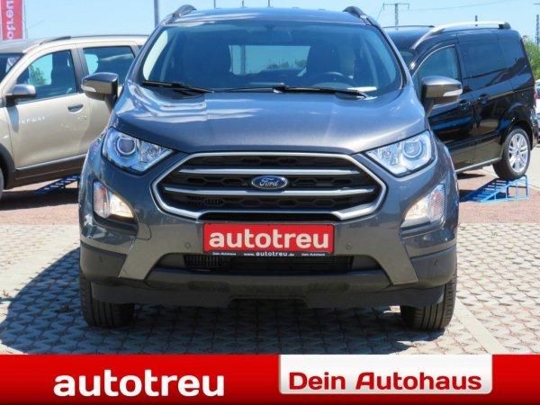 Ford EcoSport 125 Klima Navi Alu 2xParkpilot Euro6d-TEMP AHK