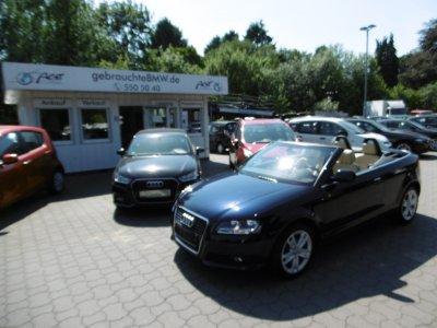 Audi A3 1.9TDI Cabrio Ambition Leder beige Sitzheizung