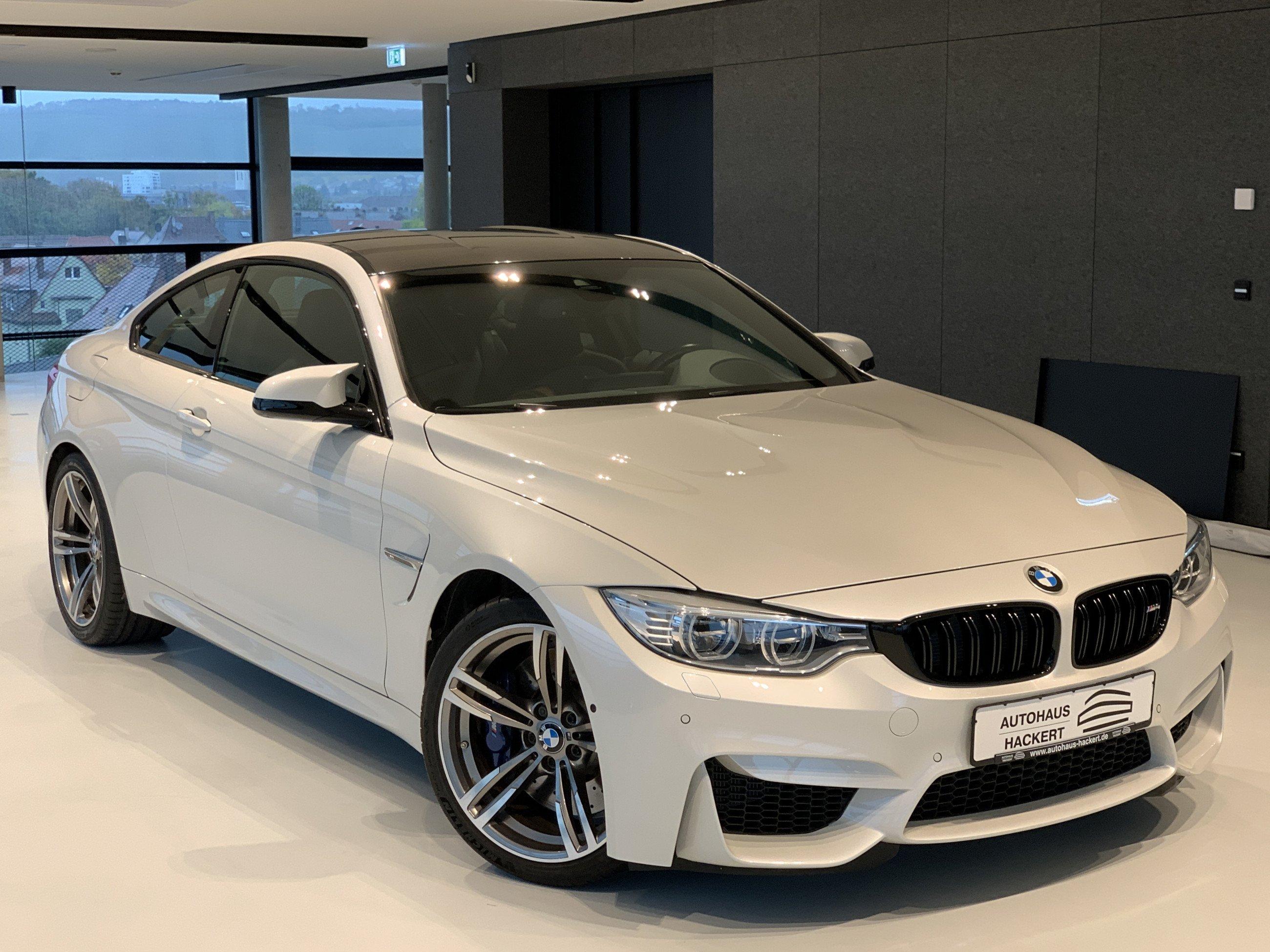 BMW M4 Coupe Headup H&K Merino 360 Schalter Navi SHZ